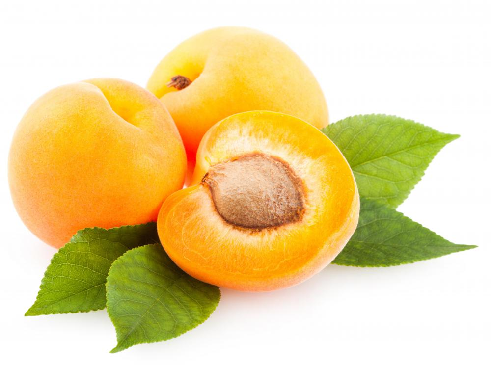 Apricots offer a natural source of coumarin.