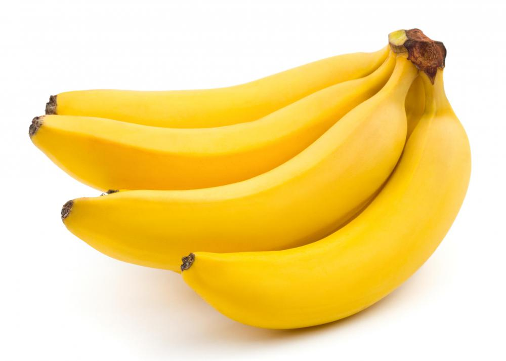 Bananas are high in flavonoids.
