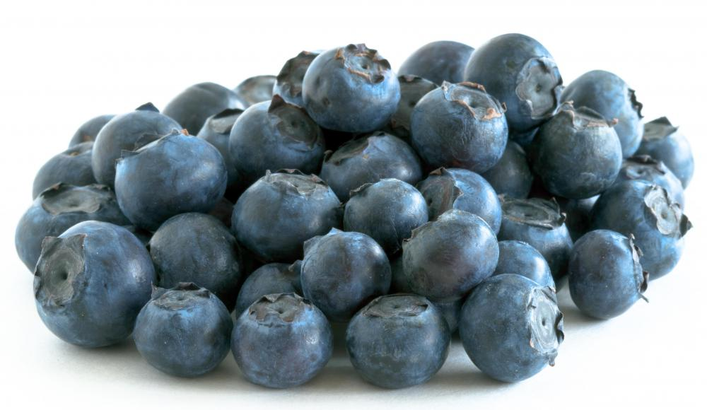 Blueberries have lots of flavonoids, which can reduce the risk of heart disease and some cancers.