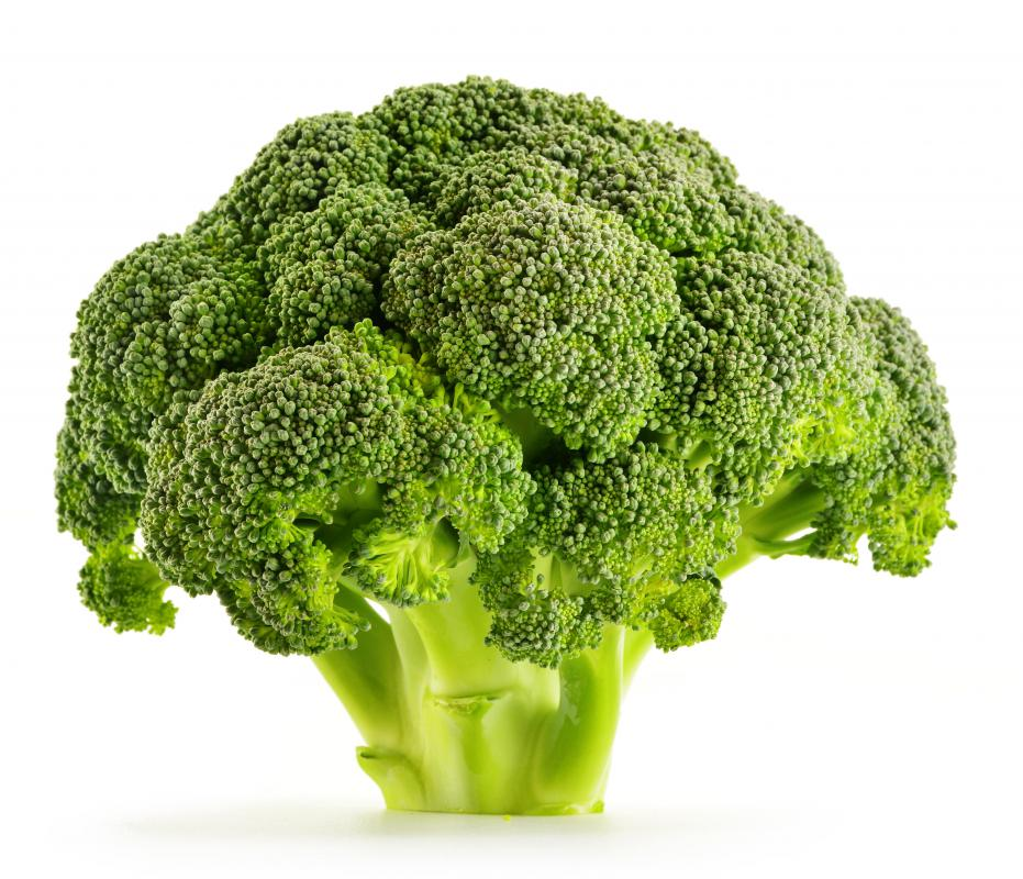 Broccoli is an excellent source of Vitamin K.