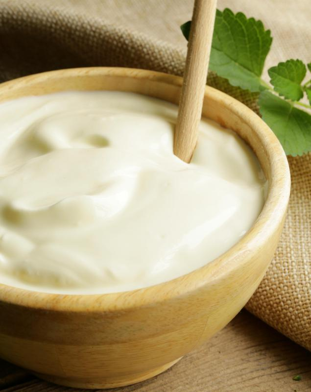 Beta glucan may be featured in sour cream.