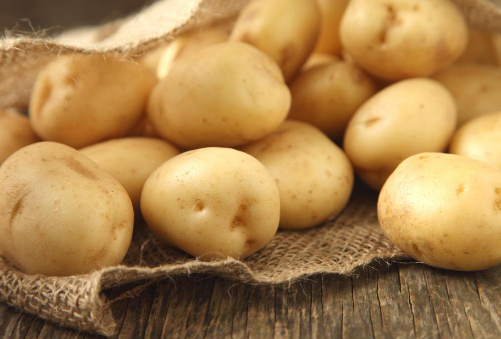 Eating potassium-rich foods such as potatoes is unlikely to cause problems associated with an overdose of the mineral.