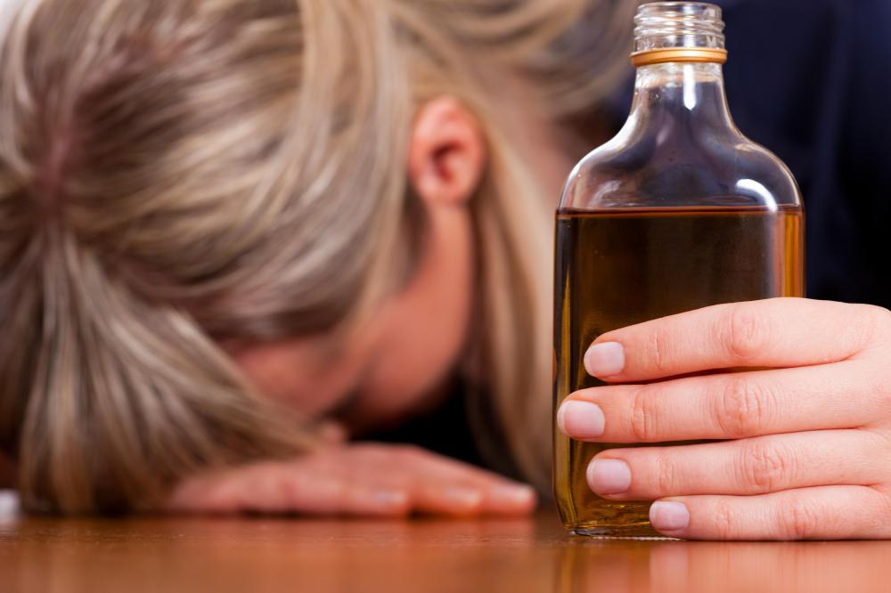 Alcoholism often contributes to cirrhosis.