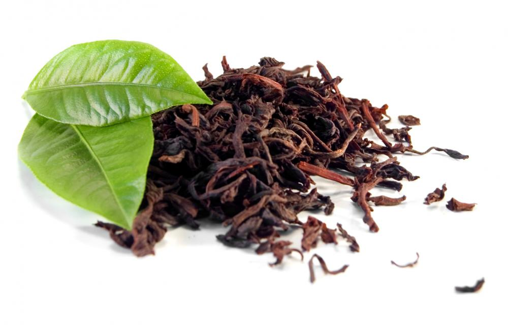 Tea, which contains catechin, a type of flavonoid.