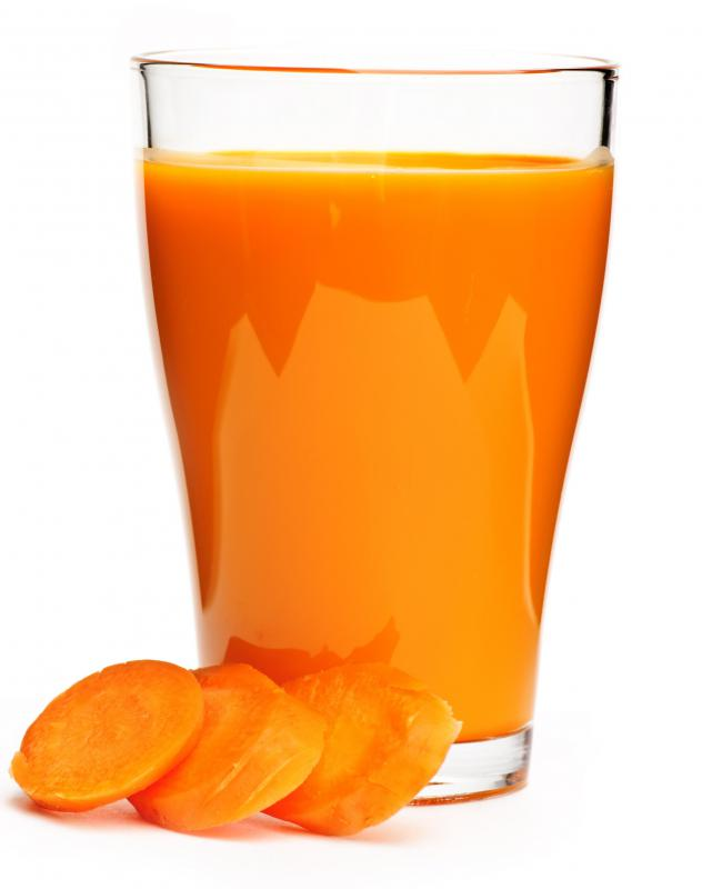 Carrot juice may help with cirrhosis.