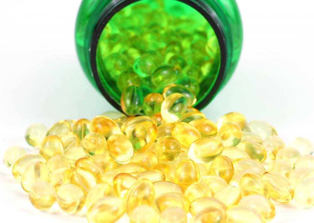 Fish oil supplements contain essential fatty acids.