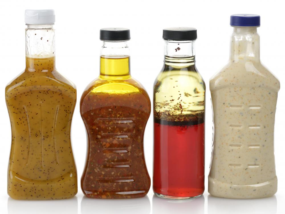 Beta glucan may be featured in salad dressings.