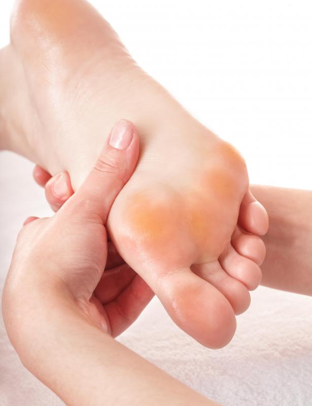 Under the principles of reflexology, every organ is thought to have a corresponding pressure point on the foot or hand.