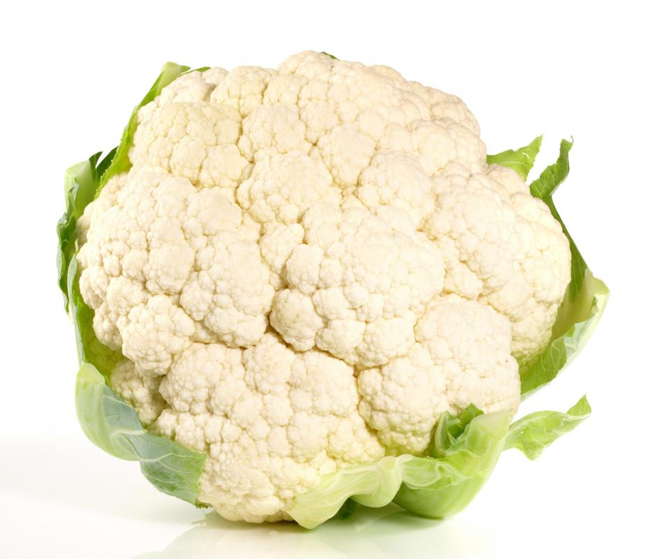 Cauliflower is a good source of vitamin K.