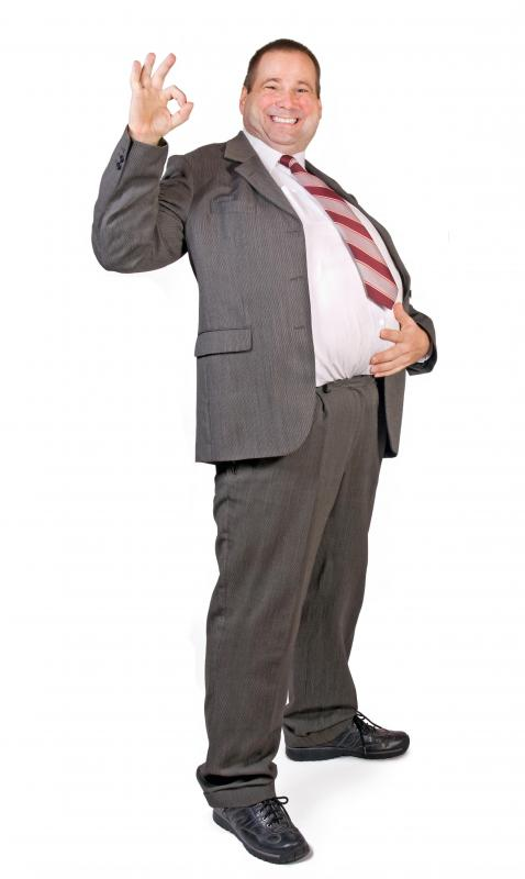 An endomorph's belly is usually bigger than his chest.