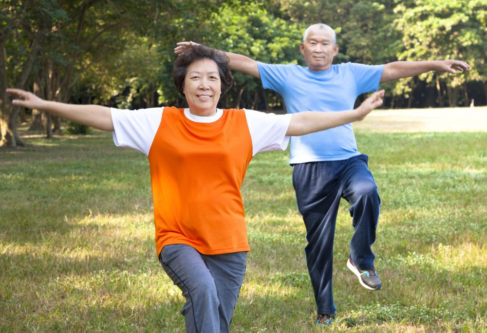 Tai Chi is a system of movement and breathing meant to be therapeutic.
