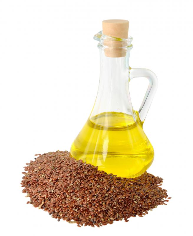 Omega-3 fatty acids are found in flax seed oil.
