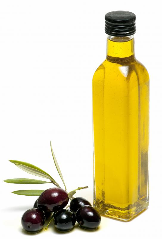 Olive oil and other monounsaturated fats are derived from plants and can reduce cholesterol.