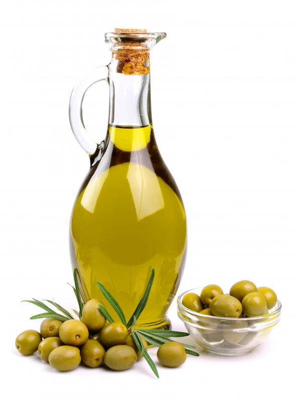 Palmitic acid, a natural fatty acid, is found in various oils, including olive oil.