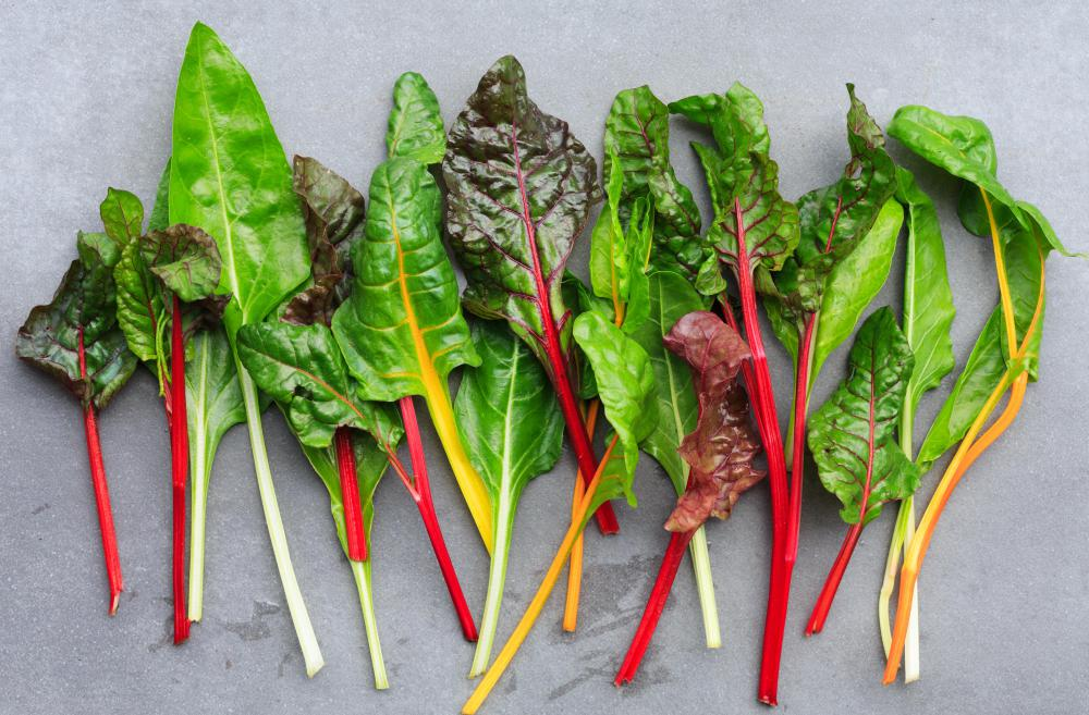 Swiss chard is a good vitamin K source.