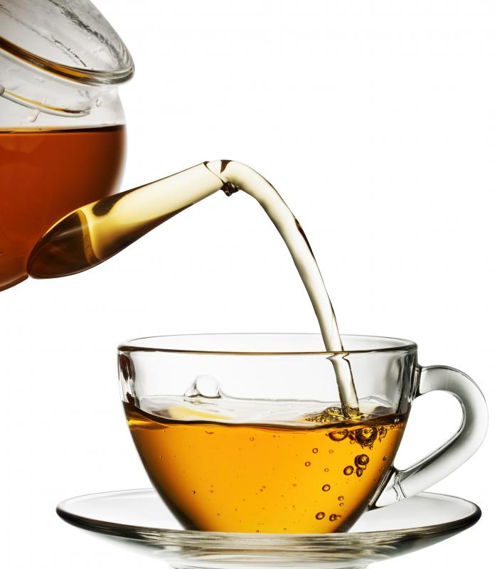 Tea is a good source of phenolic antioxidants.