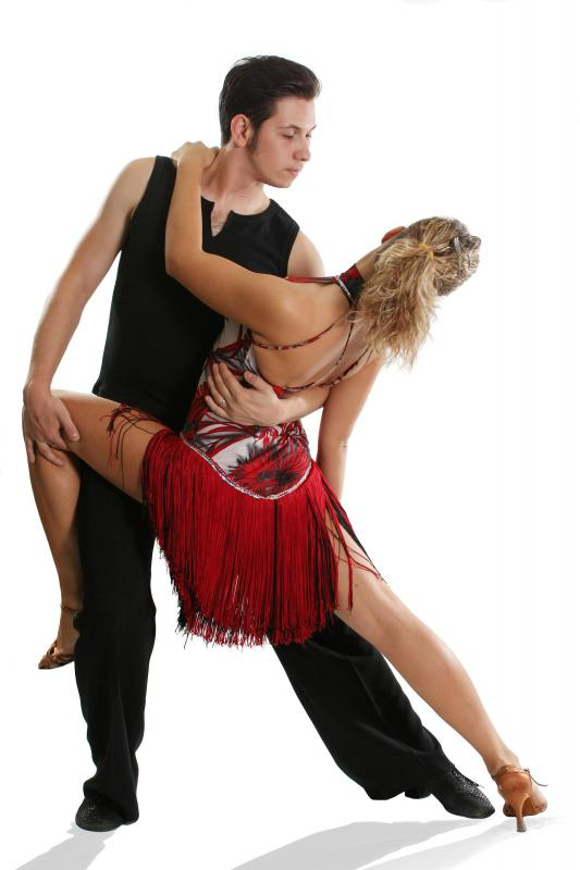 Ballroom dancing is a great way to workout and have fun.