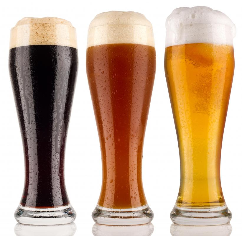 Drinking beer can increase a person's risk of developing gout.