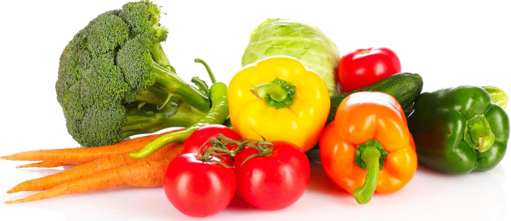 Vegetarians do not eat meat, instead consuming more plant-based foods, including many fresh vegetables.
