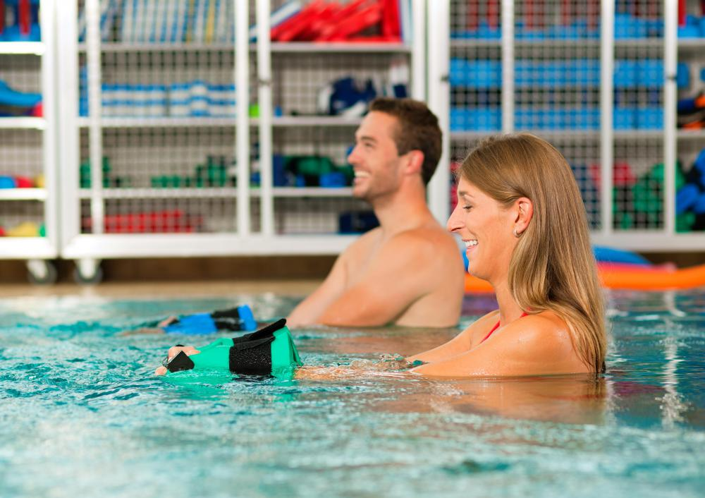 Swimming is a good way to increase cardiovsacular endurance and burn calories.