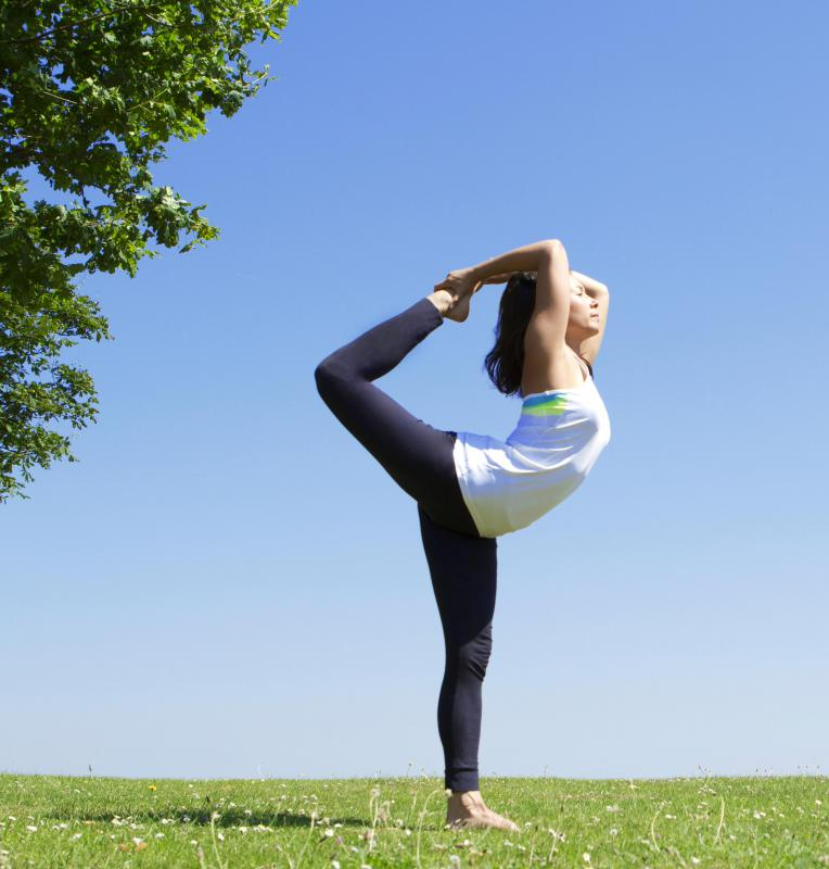 Some people practice yoga in order to develop greater agility as well as an improved sense of balance.