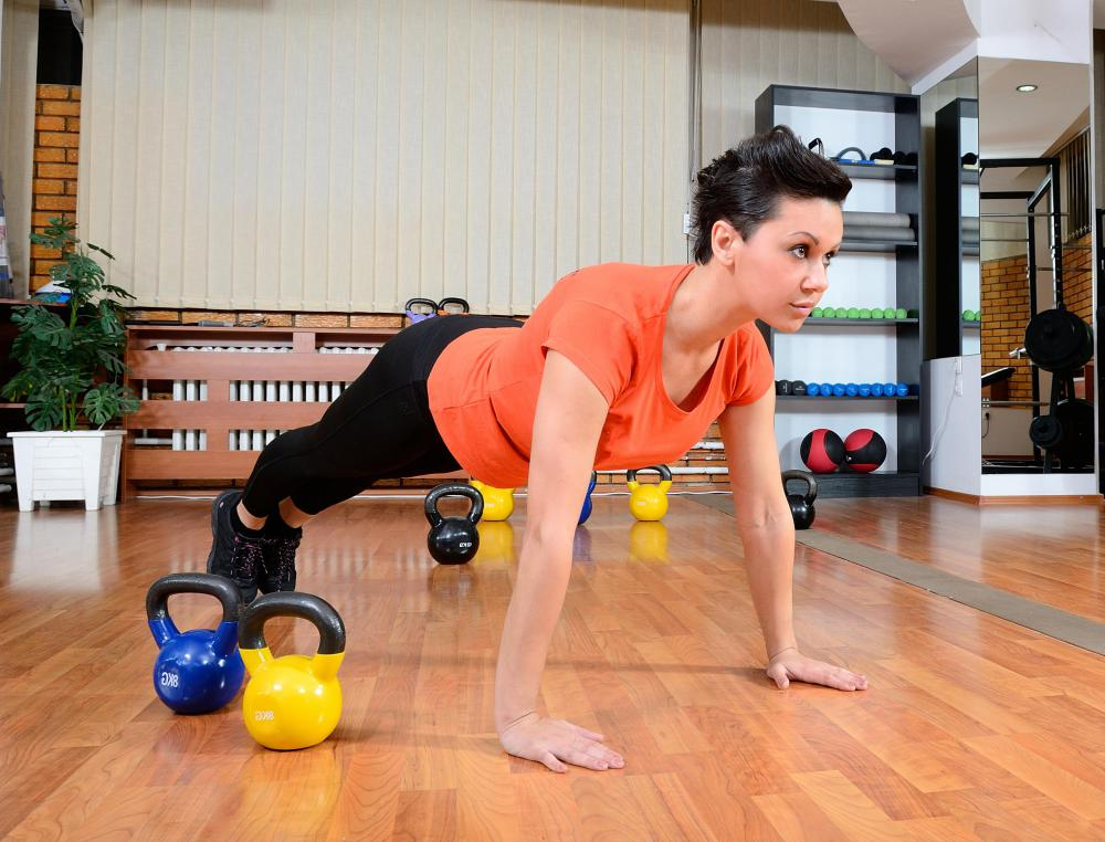 Performing push-ups regularly can strengthen and tone the chest and thus firm the breasts.